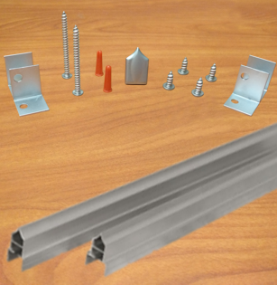 Stainless Steel Headrail Hardware