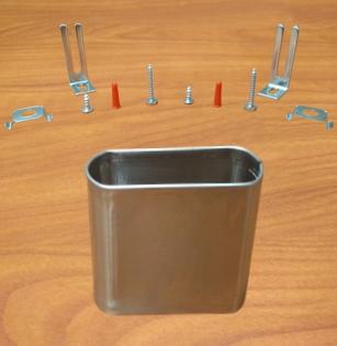 Stainless Steel Pilaster Hardware