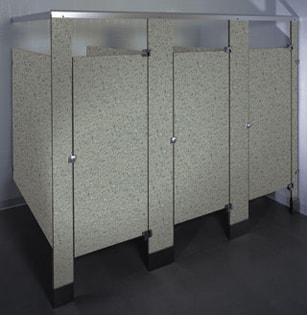 Phenolic Black Core Restroom Stalls