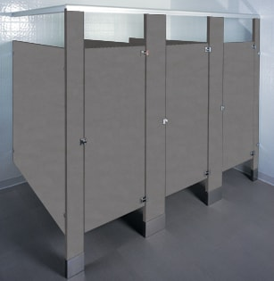 Hardware Bathroom Stall Hardware - Plastic bathroom partitions
